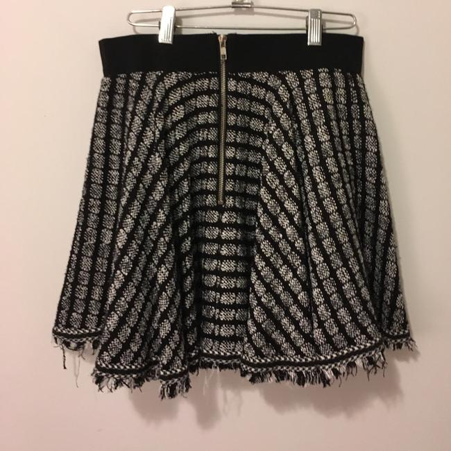 MILLY Skirt Black and White
