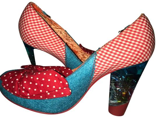 Preload https://img-static.tradesy.com/item/23495705/irregular-choice-blue-and-red-bow-pumps-size-us-9-m-b-0-3-540-540.jpg