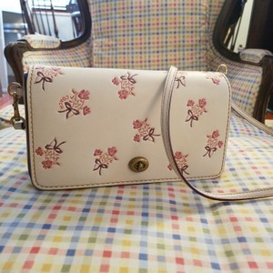Added to Shopping Bag. Coach Shoulder Bag. Coach Foldover Crossbody Clutch  with Floral Bow Print ... 30e7aa21335cc