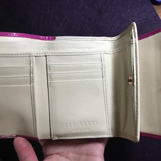 Ted Baker Twisted Bobble patent leather wallet