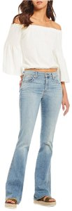 7 For All Mankind 7famk Seven Boot Cut Jeans-Light Wash