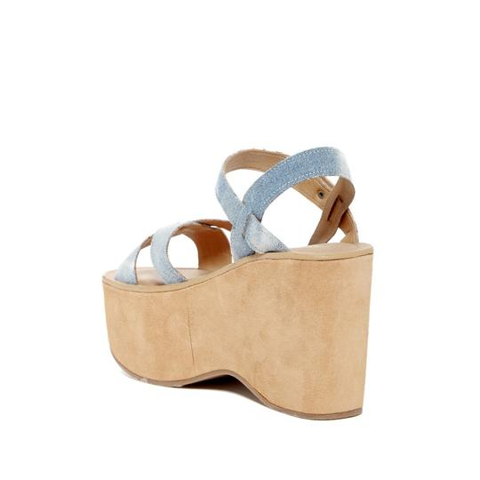 Kork-Ease Wedge denim Sandals