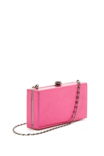 deux lux Linen Sparkles Dress pink Clutch