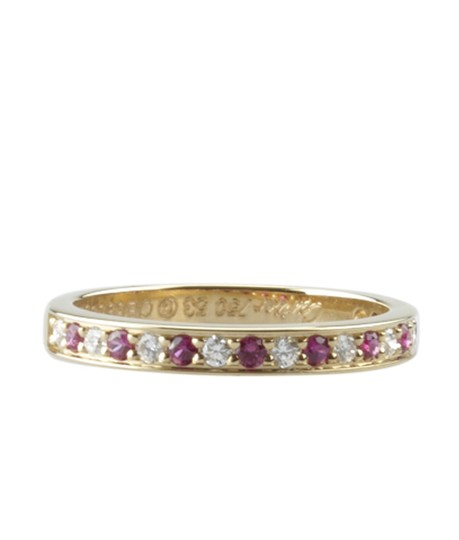 Preload https://img-static.tradesy.com/item/23495760/cartier-18k-diamond-and-ruby-size-6-150671-ring-0-0-540-540.jpg