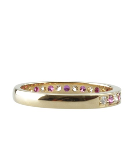 Cartier Cartier 18K Diamond & Ruby Ringx Size 6 (150671)