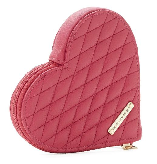 Preload https://img-static.tradesy.com/item/23495775/rebecca-minkoff-pink-quilted-zest-leather-heart-coin-purse-mini-wallet-0-0-540-540.jpg