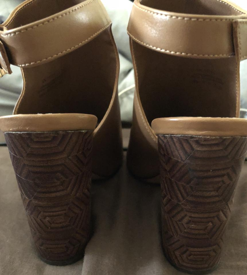 c7f9cd5a0a8 Tory Burch New This Week Were 289.00-royal Tan Groove Open Toe Boots Booties