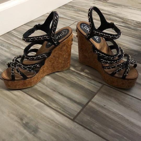 Chanel Wedges