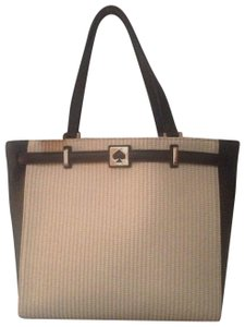 Kate Spade Tote in Cream & Black