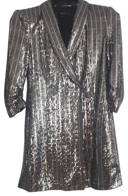 Preload https://img-static.tradesy.com/item/23495806/zara-silver-metallic-blazer-short-night-out-dress-size-12-l-0-1-650-650.jpg