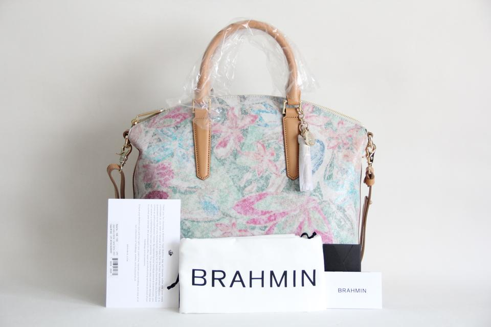 Brahmin Multicolor Satchel Duxbury Leather Large p8pSqHx7w