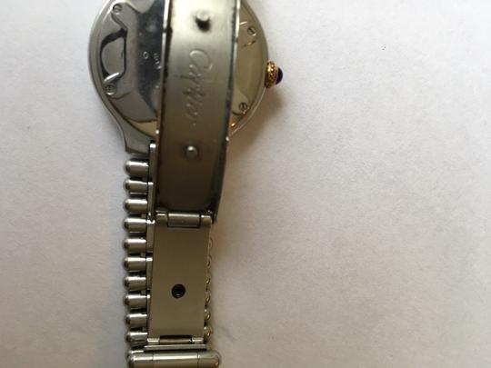 Cartier Cartier 21 Watch 18kt yellow gold and stainless steel