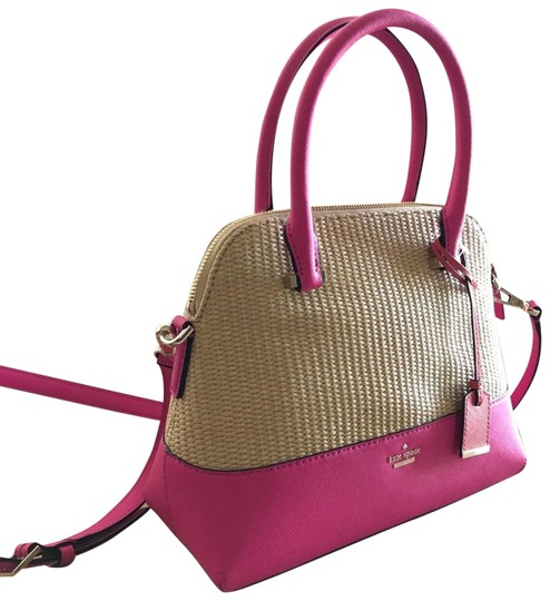 Preload https://img-static.tradesy.com/item/23495905/kate-spade-cameron-street-maise-beige-straw-and-bright-pink-rafia-and-saffiano-leather-exterior-shou-0-1-540-540.jpg