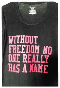 No Boundaries Tee-shirt,Black,Clothing,Freedom,Clothes,Active-wear,Handmade,Neat