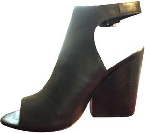 Tory Burch Black Leather Mules NEW-ON--SALE THIS WEEK! WAS 289,00 Boots