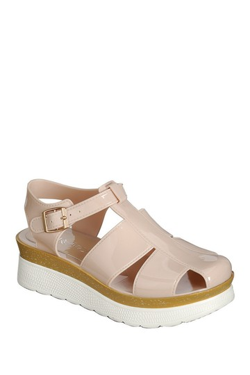 Refresh Beige Telsa 01 In White Sandals Size US 9 Regular (M, B)