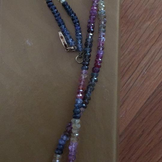 Other vintage tourmaline and amethyst necklace