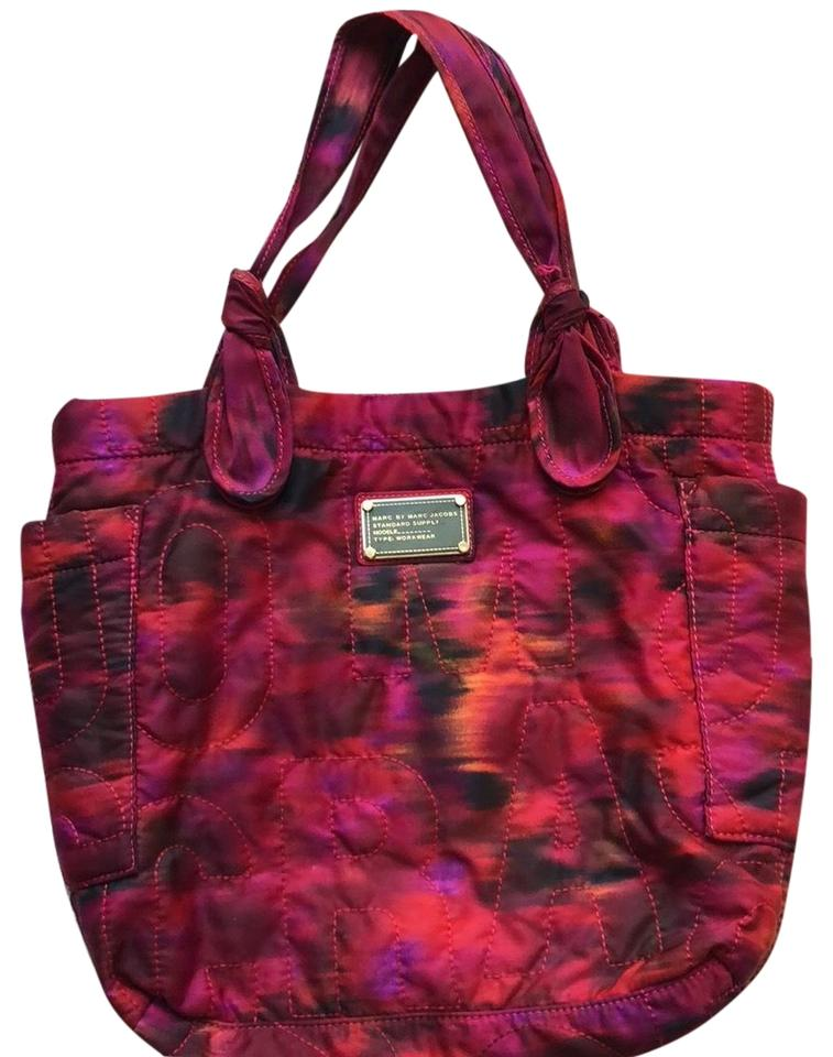 Nylon Jacobs Marc Red Workwear Pink Tote dIdwqxRBO