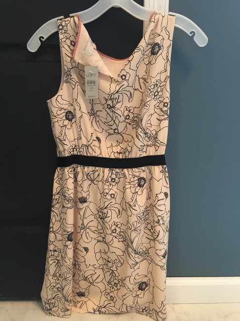 Ann Taylor LOFT Floral Print Sleeveless Party Dress