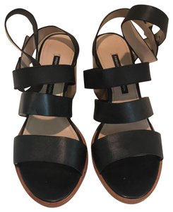 French Connection Block Heel black Sandals