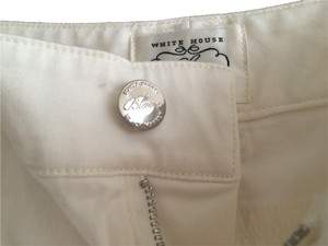 White House | Black Market Boot Cut Pants white