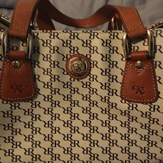 Rioni Satchel in Brown and tan