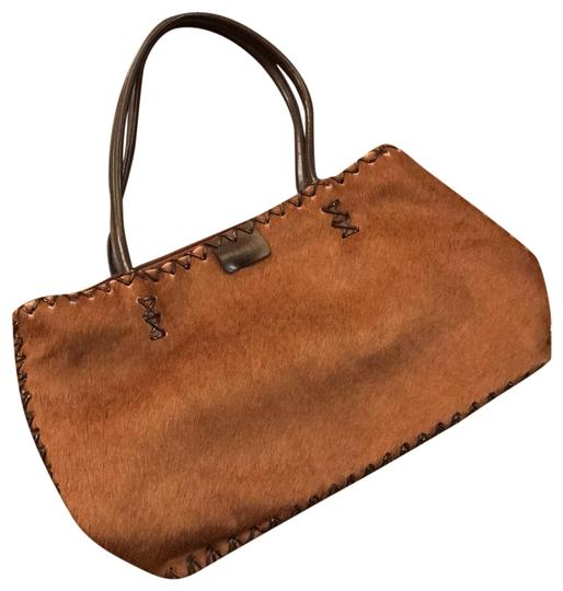 Preload https://img-static.tradesy.com/item/23496465/satchel-brown-horsehair-and-leather-stitching-shoulder-bag-0-1-540-540.jpg