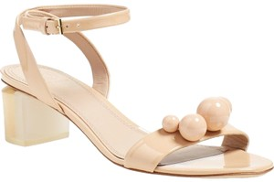 Tory Burch Nude Patent Sandals