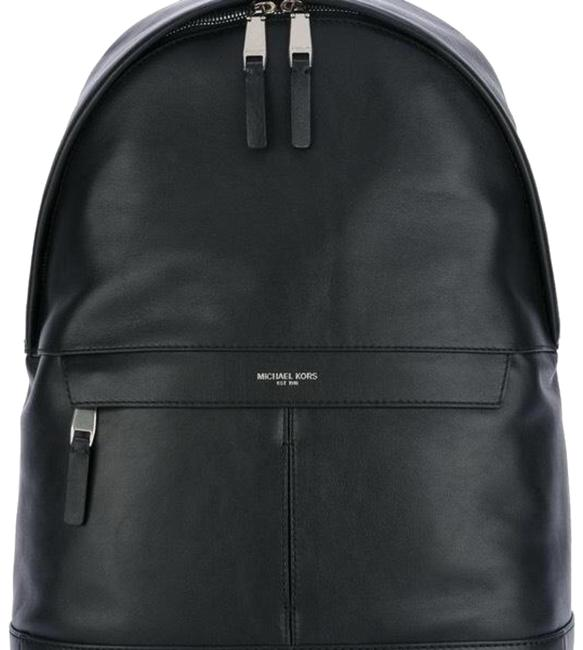 Item - Men's Black Leather Backpack