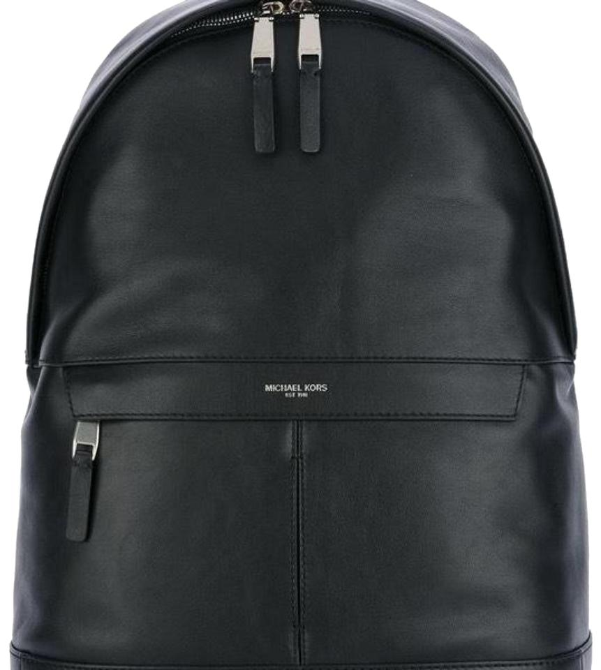 acc8be74978f Michael Kors Collection Mk Bookbag Leather Backpack Image 0 ...