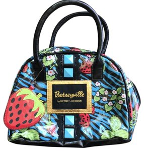 Betseyville by Betsey Johnson Strawberry Tote in Blue