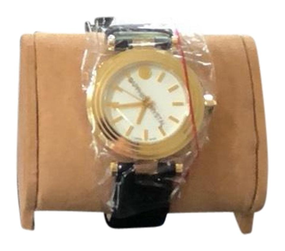 71838bf7ac1 Tory Burch T Classic Ivory Dial Leather Watch - Tradesy