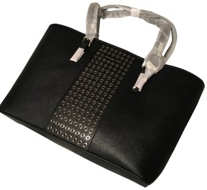 Michael Kors Tote in Black with Silver hardware