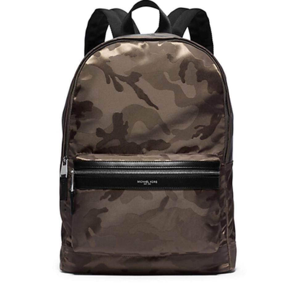 Michael Kors Camo Camouflage Bookbag Mk Backpack