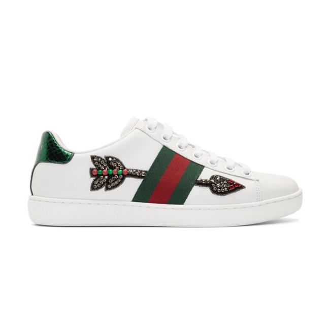 Item - White/Red Green Ace Sneakers Size US 6 Regular (M, B)