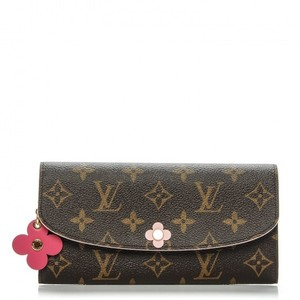 Louis Vuitton BRAND NEW! Louis Vuitton Blooms Flower Emilie Wallet Monogram
