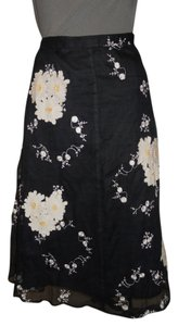 PS-NY by Saman Skirt black & white