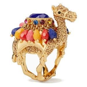 Kate Spade NWT KATE SPADE SPICE THINGS UP CAMEL RING 8