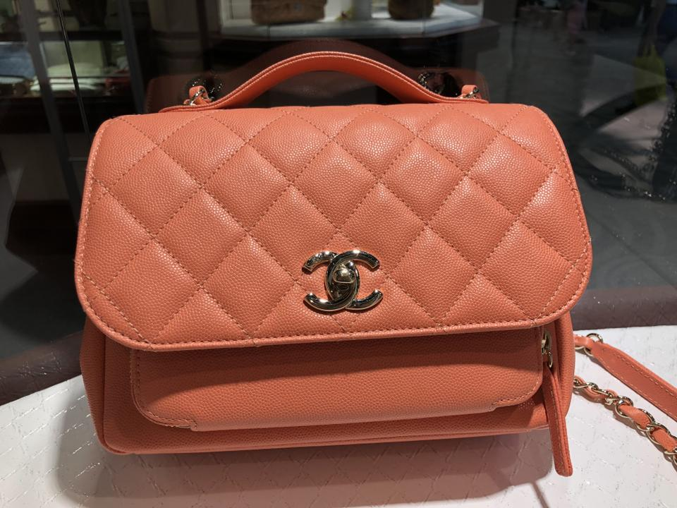a155875b785e Chanel Classic Flap Caviar Small Business Affinity Top Handle Light ...
