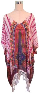 Band of Gypsies Magenta Tapestry Cover Up