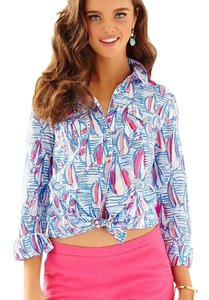 Lilly Pulitzer Button Down Shirt multi