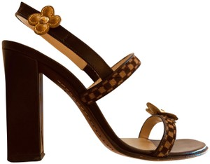 942f9a8c2bdf2 Brown Louis Vuitton Sandals - Up to 90% off at Tradesy