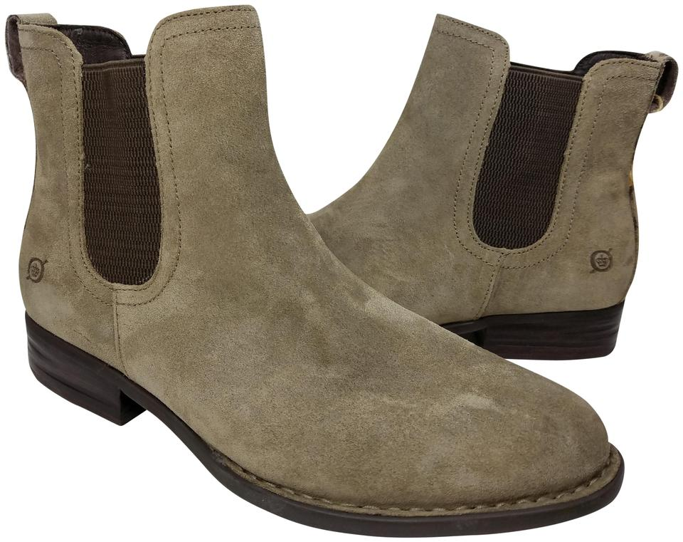 B?rn Taupe Casco Pull On Boots/Booties Chelsea Suede F28806 Ankle Boots/Booties On 673270