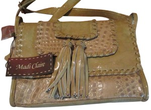 Madi Claire Leather Shoulder Bag