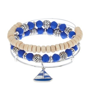 Alex and Ani Blue Sailboat