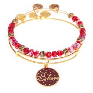 Alex and Ani Red Believe