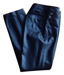 Leather Tommy Hilfiger Straight Leg Jeans