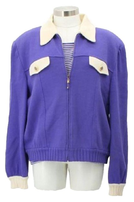 Item - Purple L J1 By Marie Gray Large Formal Jacket Size 12 (L)