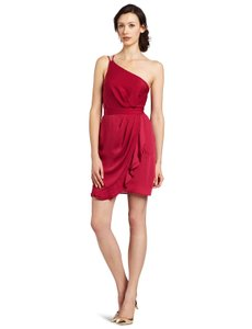 BCBGeneration Grecian Ruffle Drape Draped Dress