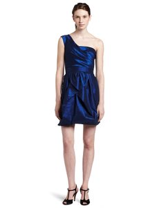 Max and Cleo Draped One Shoulder Dress